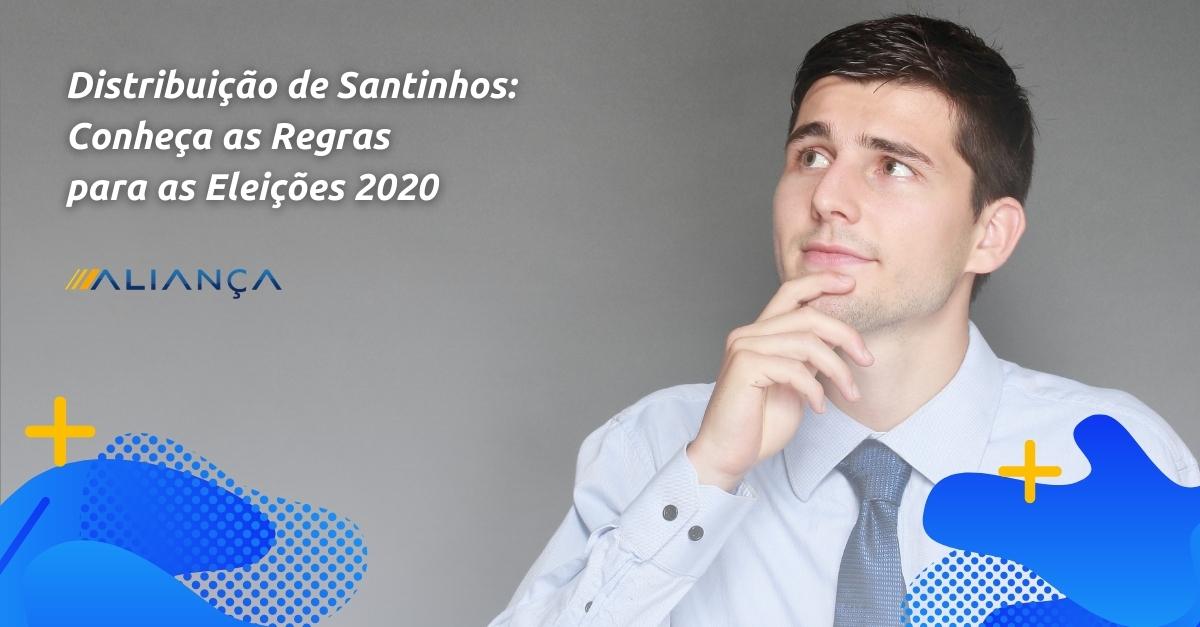 distribuição de santinhos 2020